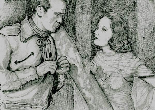Merle Oberon, Gary Cooper by didgiv